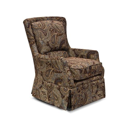 - Lacey Swivel Chair with Skirt