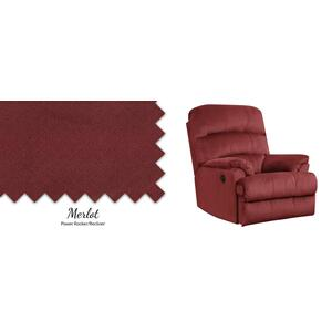 Merlot Power Rocker/Recliner