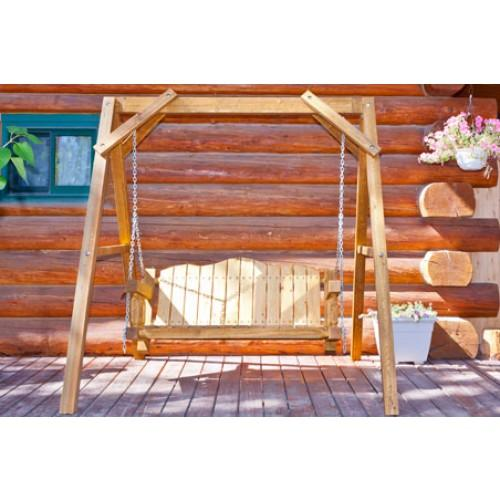 Homestead Lawn Swing - Exterior Finish