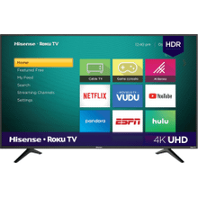 "43"" Class - R6 Series - 4K UHD Hisense Roku TV with HDR (2019) SUPPORT"