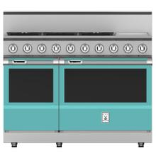 "48"" 5-Burner Dual Fuel Range with 12"" Griddle - KRD Series - Bora-bora"