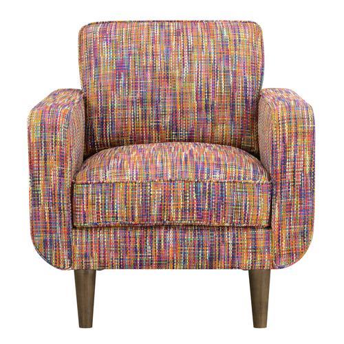 Jax Accent Chair, Mardi Gras U3906-02-02a