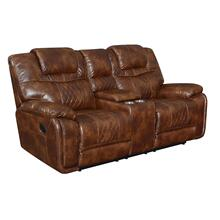 Boardwalk Reclining Console Loveseat