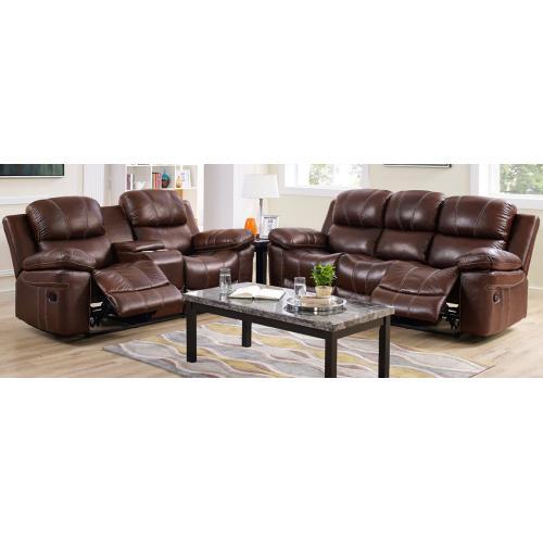 Dual Rec Power Sofa