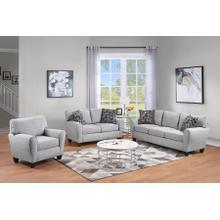 See Details - Reese Cream Sofa, Loveseat & Chair, U2951
