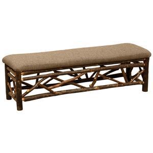 Twig Bench - 60-inch - Upgrade Fabric