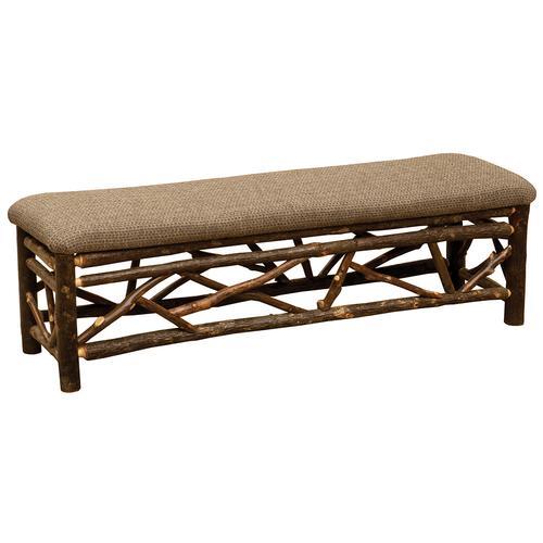 Twig Bench - 72-inch - Standard Fabric