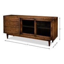 See Details - Reese Sideboard, Brown