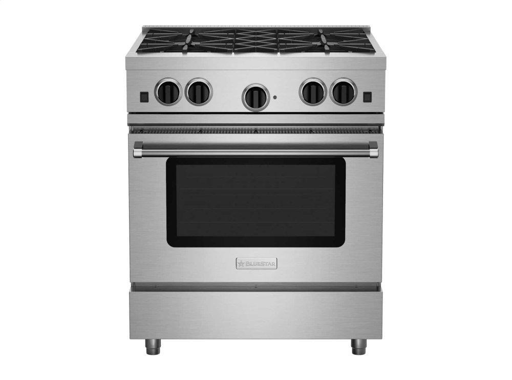 "Bluestar30"" Culinary Series (Rcs) Open Burner Range"