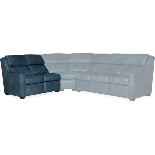 Bradington Young Loewy LAF Loveseat Recline At Arm w/Articulating Headrest 941-55