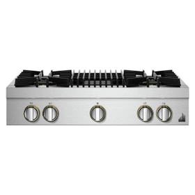 """36"""" RISE™ Gas Professional-Style Rangetop with Gas Grill"""