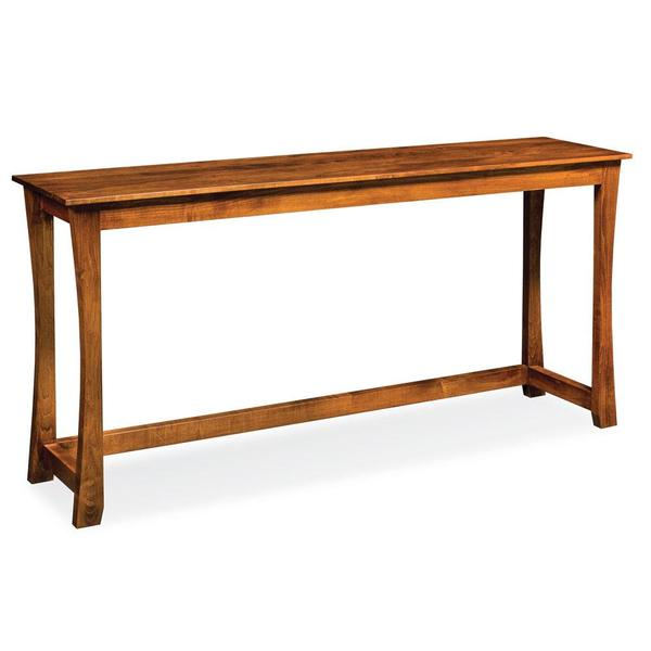 """See Details - Loft Console Bar Table, 72"""""""