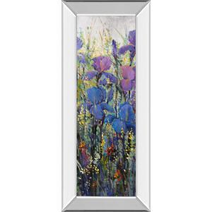 """""""Iris Field Il"""" By Tim Otoole Mirror Framed Print Wall Art"""