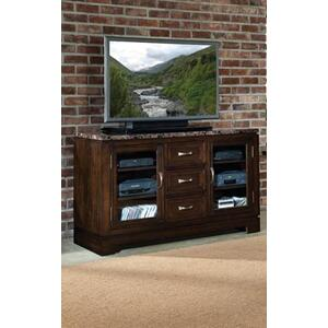 Standard Furniture - Desk/entertainment Combo W/power Plug