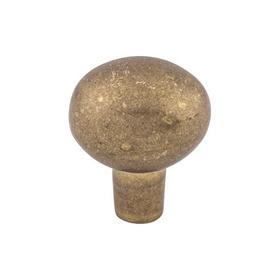 Aspen Large Egg Knob 1 7/16 Inch Light Bronze