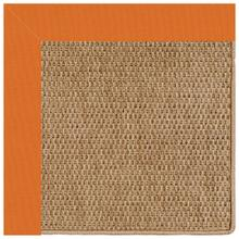 Islamorada-Basketweave Canvas Tangerine