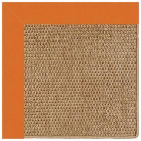 Islamorada-Basketweave Canvas Tangerine