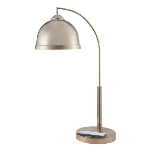"30""h Table Lamp Phone Charger"