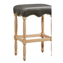 "Yorkshire 30"" Pub Bar Stool, Brown"