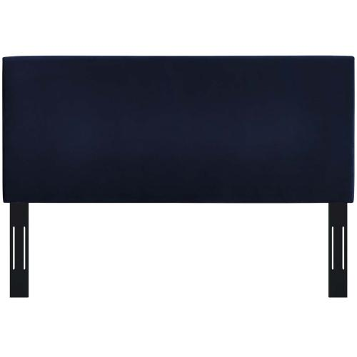Modway - Taylor King and California King Upholstered Performance Velvet Headboard in Midnight Blue