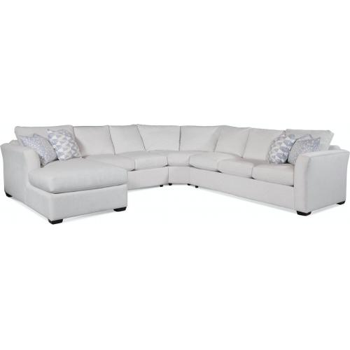 Braxton Culler Inc - Bridgeport Sectional with Topstitching