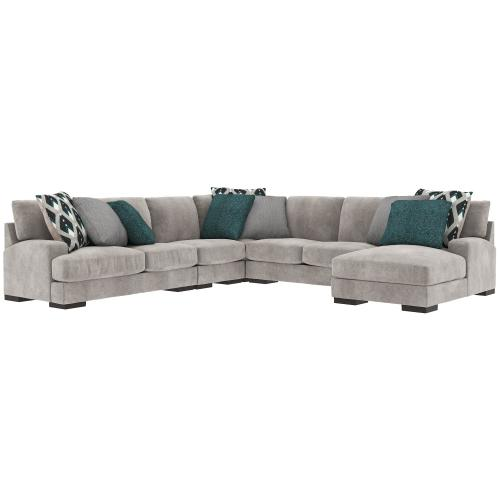 Product Image - Bardarson 5-piece Sectional With Chaise