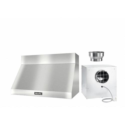 "DAR 1230 Set 10 Wall-Mounted Range Hood with Extraction Mode with external XL motor including 6"" chimney cover."