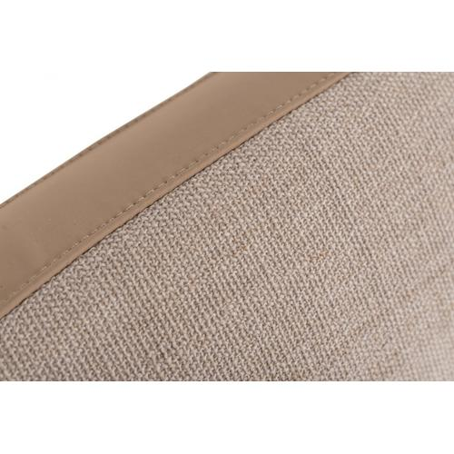 Modrest Brittany Beige Fabric Bed
