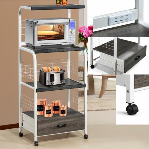 Crown Mark - Kitchen Shelf On Cas
