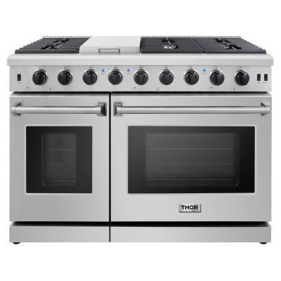 Thor KitchenThor Kitchen - 48 Inch Professional Gas Range In Stainless Steel