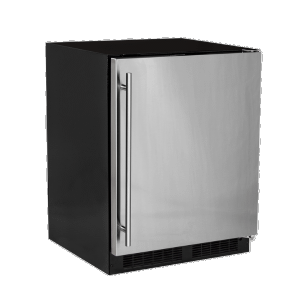 Marvel24-In Low Profile Built-In High-Capacity Refrigerator with Door Style - Stainless Steel