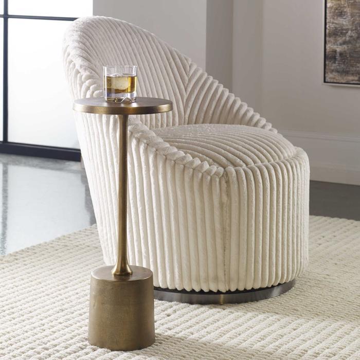 Uttermost - Sanaga Drink Table, Gold