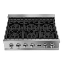 ZLINE 36 in. Porcelain Rangetop with 6 Gas Burners (RT36)