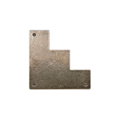Rocky Mountain Hardware - Door Corner Bracket - DCT600 Silicon Bronze Light