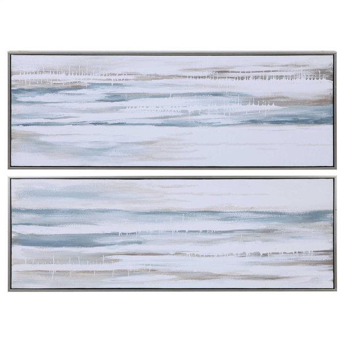 Uttermost - Drifting Hand Painted Canvases, S/2