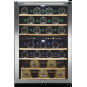 38 Bottle Two-Zone Wine Cooler