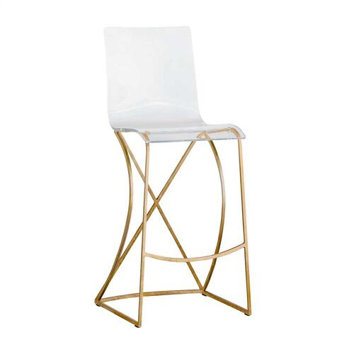 "Johnson 30.25"" Bar Stool - Gold"