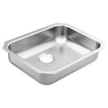 """See Details - 1800 Series 23-1/2""""X18-1/4"""" stainless steel 18 gauge single bowl sink"""