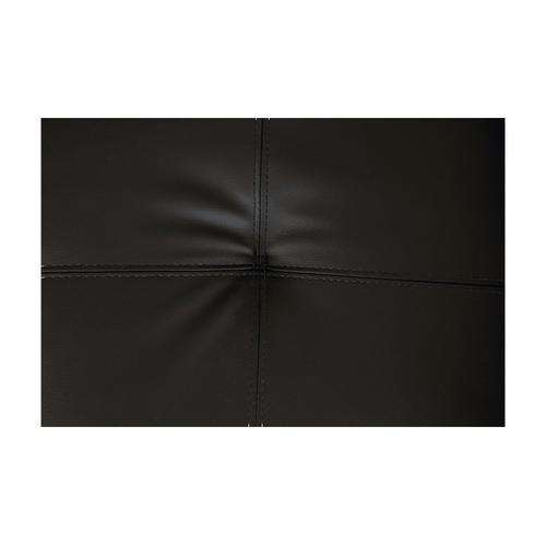 Henley Black with Black Stitch Loveseat, SWU9130