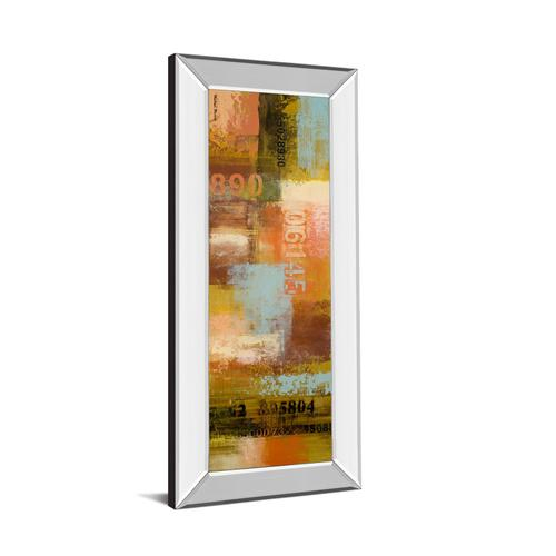 """Classy Art - """"Departures I"""" By Michael Marcon Mirror Framed Print Wall Art"""