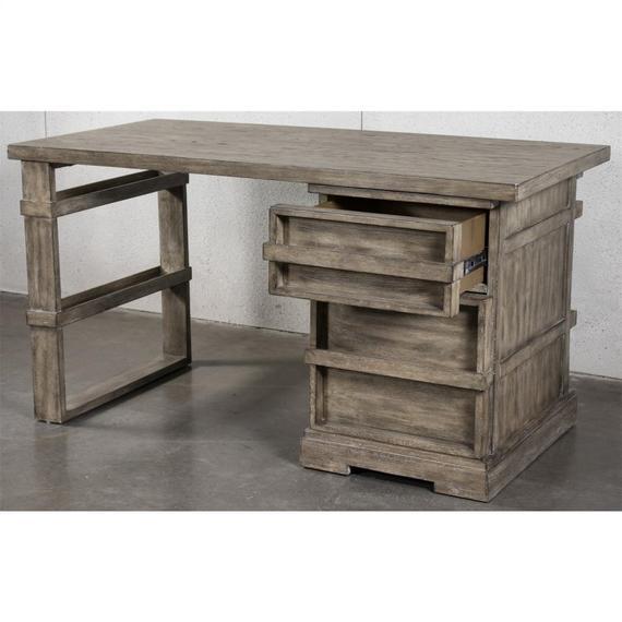 Milton Park - Writing Desk Base - Primitive Silk Finish