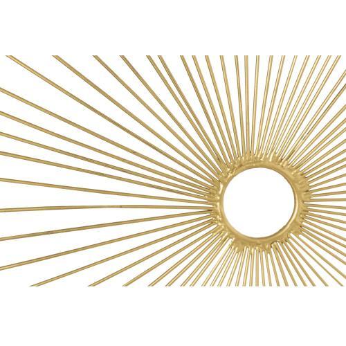 Tov Furniture - Amoeba Gold Wall Art