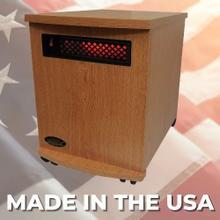 View Product - Original SUNHEAT USA1500-M Infrared Heater - Oak