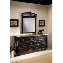 JP 417 Six Drawer Dresser