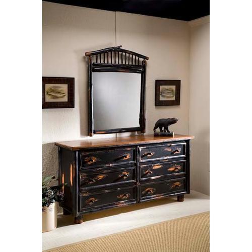 JP 417 Six Drawer Dresser