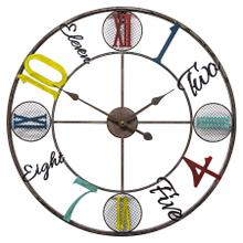 Whimsical Design Wall Clock