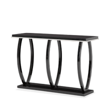 Sky Tower Console Table Black Ice