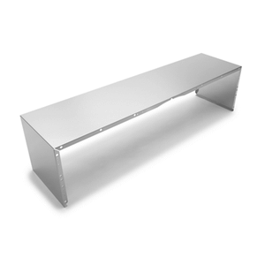 Full Width Duct Cover - 48 in. Stainless Steel
