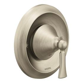 Wynford brushed nickel posi-temp® valve trim