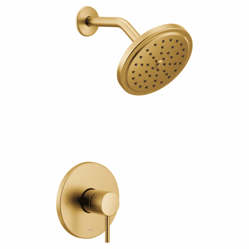 Align brushed gold m-core 3-series shower only